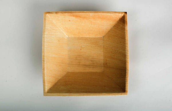 "6.5""x 6. 5""size - Palmleaf Pyramid Deep Bowl"